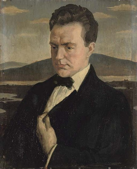 portrait of Oliver St John Gogarty (image courtesy of prabook.com)